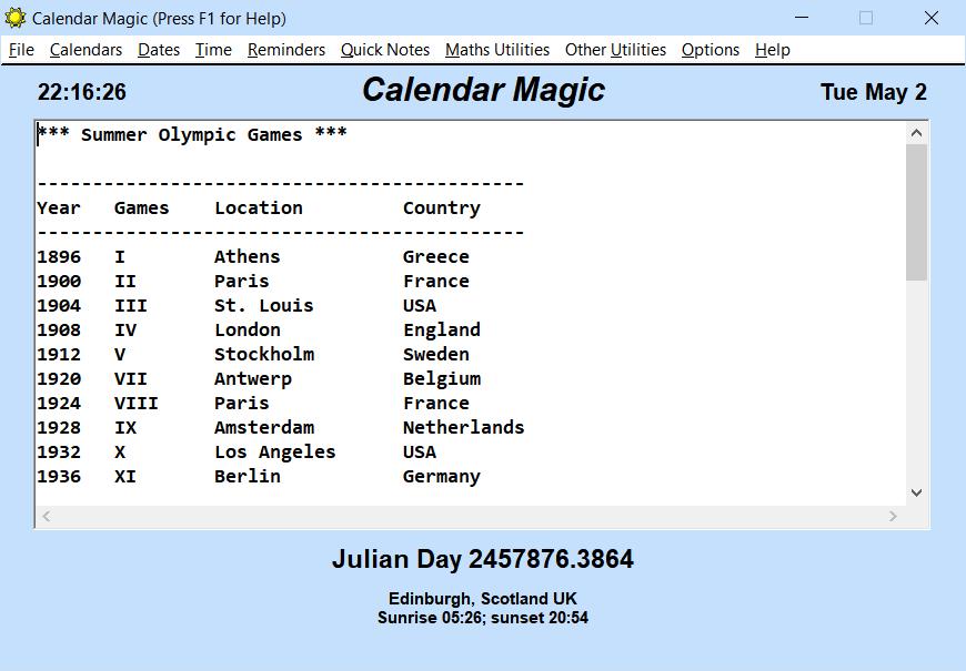 Windows 7 Calendar Magic 19.0 full